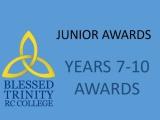 2021 Junior Awards Years 7-10